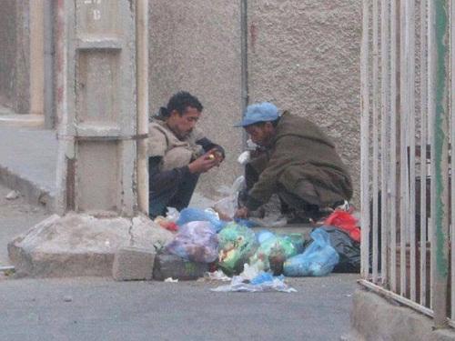 """Résultat de recherche d'images pour """"الأكل من القمامة في المغرب"""""""